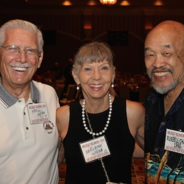 Cecil and Darlene Wynn, Russ Chang attend the 2015 37th Anniversary - Annual Wildcat Reunion at The Orleans Hotel and Casino in Las Vegas, NV on September 26, 2015. Photo by Lia Chang