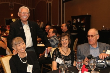 Darlene Wynn, Cecil Wynn, Lynne Keeton and Jim Keeton attend the 2015 37th Anniversary - Annual Wildcat Reunion at The Orleans Hotel and Casino in Las Vegas, NV on September 26, 2015. Photo by Lia Chang