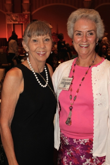 Fran Wynn and Crystal Compese attend the 2015 37th Anniversary - Annual Wildcat Reunion at The Orleans Hotel and Casino in Las Vegas, NV on September 26, 2015. Photo by Lia Chang