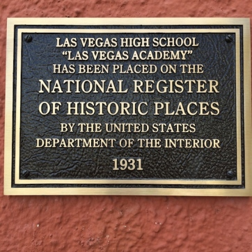 Las Vegas High School. Photo by Lia Chang