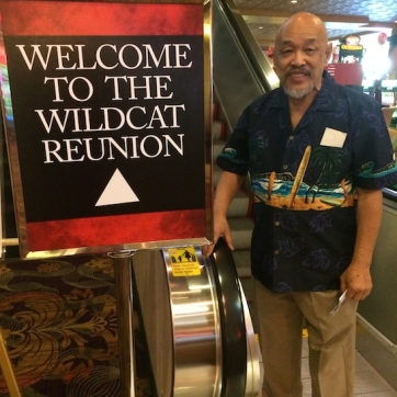 LVHS Class of 1960 alumnus Russ Chang attends the 2015 37th Anniversary - Annual Wildcat Reunion at The Orleans Hotel and Casino in Las Vegas, NV on September 26, 2015. Photo by Lia Chang