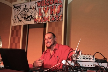 Our fabulous DJ at the 2015 37th Anniversary - Annual Wildcat Reunion at The Orleans Hotel and Casino in Las Vegas, NV on September 26, 2015. Photo by Lia Chang