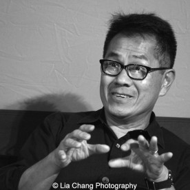 """Screening of """"The Killing Fields of Dr. Haing S. Ngor,"""" International House, October 22, 2015, New York. Director Arthur Dong. Photo by Lia Chang"""