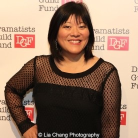 Ann Harada attends the Dramatists Guild Fund's Gala: 'Great Writers Thank Their Lucky Stars' at Gotham Hall on October 26, 2015 in New York City. Photo by Lia Chang