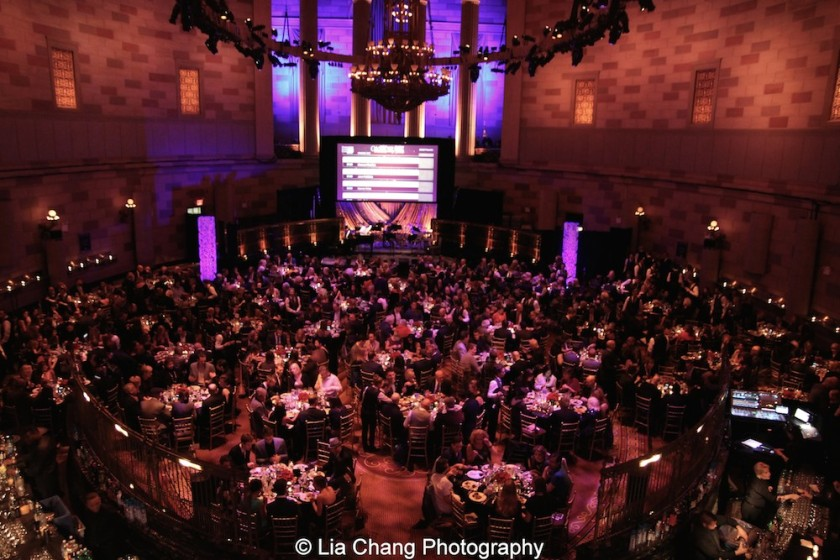 The Dramatists Guild Fund's Gala: 'Great Writers Thank Their Lucky Stars' at Gotham Hall on October 26, 2015 in New York City. Photo by Lia Chang