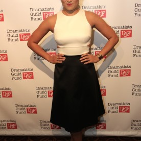 Jenna Ushkowitz attends the Dramatists Guild Fund's Gala: 'Great Writers Thank Their Lucky Stars' at Gotham Hall on October 26, 2015 in New York City. Photo by Lia Chang