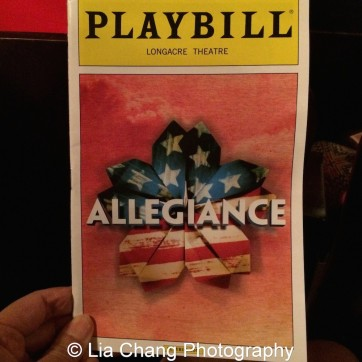 ALLEGIANCE program. Photo by Lia Chang