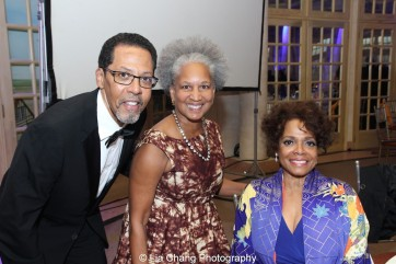 Peter Jay Fernandez, a guest and Denise Burse Fernandez at the 30th anniversary benefit gala of Beth-Hark Christian Counseling Center, Inc. at Terrace on the Park in Flushing Meadows Park, NY on October 9, 2015. Photo by Lia Chang