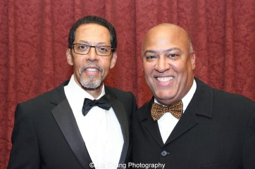 Brothers Peter Jay Fernandez and Gerald A. Fernandez attend the 30th anniversary benefit gala of Beth-Hark Christian Counseling Center, Inc. at Terrace on the Park in Flushing Meadows Park, NY on October 9, 2015. Photo by Lia Chang