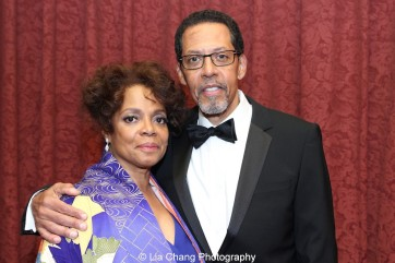 Actors Denise Burse Fernandez and her husband Peter Jay Fernandez hosted the 30th anniversary benefit gala of Beth-Hark Christian Counseling Center, Inc. at Terrace on the Park in Flushing Meadows Park, NY on October 9, 2015. Photo by Lia Chang