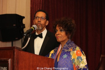 Actors Peter Jay Fernandez and his wife Denise Burse Fernandez hosted the 30th anniversary benefit gala of Beth-Hark Christian Counseling Center, Inc. at Terrace on the Park in Flushing Meadows Park, NY on October 9, 2015. Photo by Lia Chang