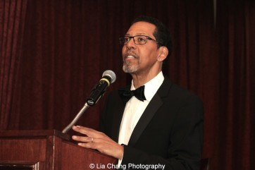 Peter Jay Fernandez speaks at the 30th anniversary benefit gala of Beth-Hark Christian Counseling Center, Inc. at Terrace on the Park in Flushing Meadows Park, NY on October 9, 2015. Photo by Lia Chang