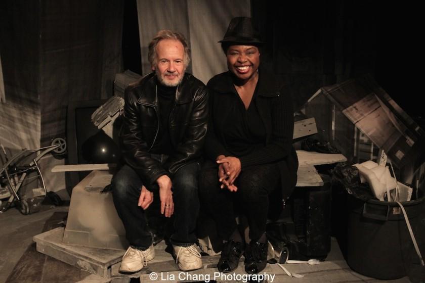 Bryan Hickey and Richarda Abrams. Photo by Lia Chang