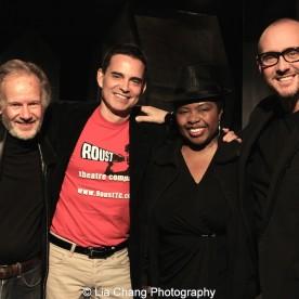Bryan Hickey, Dan McCormick, Richarda Abrams and James Phillip Gate. Photo by Lia Chang