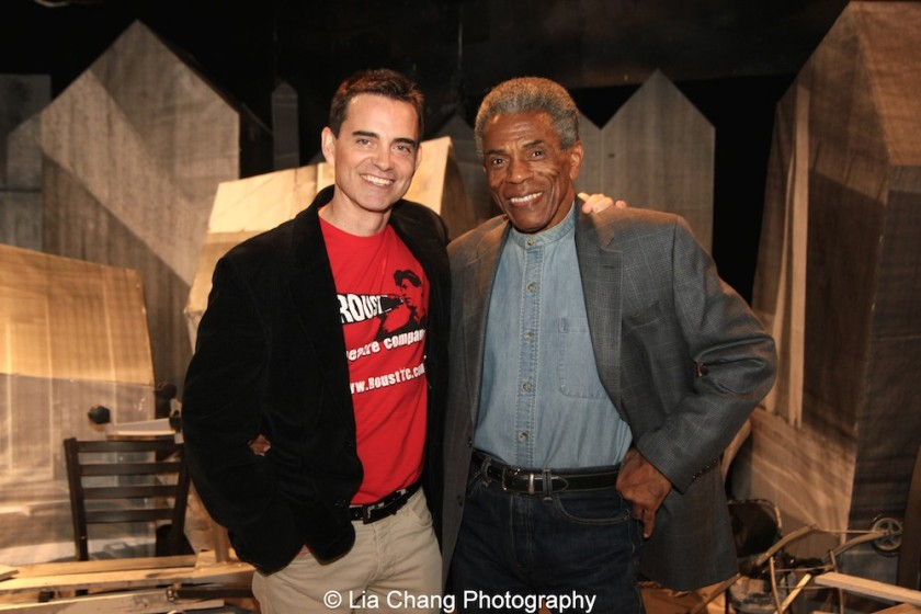 Dan McCormick and André De Shields. Photo by Lia Chang