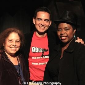 June Rachelson Ospa, Dan McCormick and Richarda Abrams. Photo by Lia Chang