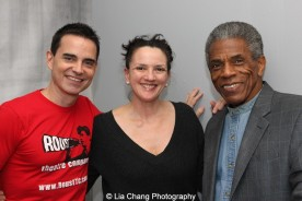 Dan McCormick, Tracy Hostmyer and André De Shields. Photo by Lia Chang