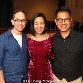 "Screening of ""The Killing Fields of Dr. Haing S. Ngor,"" International House, October 22, 2015, New York. Filmmaker's Garth Kravits, Lia Chang and Arthur Dong."