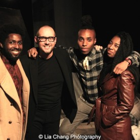 Kevin Kedroe, James Phillip Gates, Malcolm Andre Davis II and Tochi Shilow. Photo by Lia Chang
