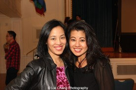 "Screening of ""The Killing Fields of Dr. Haing S. Ngor,"" International House, October 22, 2015, New York. Lia Chang and Sophia Ngor, Dr. Ngor's niece and film subject. Photo by Garth Kravits"