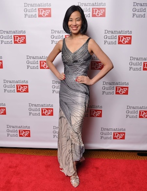 Lia Chang attends the Dramatists Guild Fund's Gala: 'Great Writers Thank Their Lucky Stars' at Gotham Hall on October 26, 2015 in New York City.