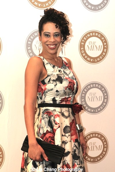 2015 Steinberg Playwright Award winner Dominique Morisseau attends the 2015 Steinberg Playwright Awards on November 16, 2015 in New York City. Photo by Lia Chang