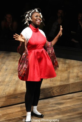 Jocelyn Bioh performs at the 2015 Steinberg Playwright Awards on November 16, 2015 in New York City. Photo by Lia Chang