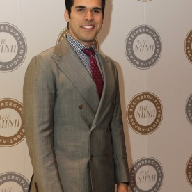 Joel Perez attends the 2015 Steinberg Playwright Awards on November 16, 2015 in New York City. Photo by Lia Chang