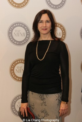2011 Steinberg Award winner Lisa d'Amour attends the 2015 Steinberg Playwright Awards on November 16, 2015 in New York City. Photo by Lia Chang