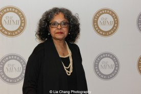 Lynda Gravatt attends the 2015 Steinberg Playwright Awards on November 16, 2015 in New York City. Photo by Lia Chang