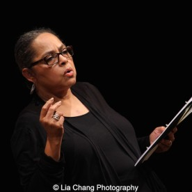 Lynda Gravatt performs at the 2015 Steinberg Playwright Awards on November 16, 2015 in New York City. Photo by Lia Chang