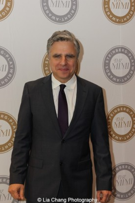 Atlantic Theater Company's Neil Pepe attends the 2015 Steinberg Playwright Awards on November 16, 2015 in New York City. Photo by Lia Chang