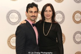 Todd d'Amour and 2011 Steinberg Award winner Lisa d'Amour attends the 2015 Steinberg Playwright Awards on November 16, 2015 in New York City. Photo by Lia Chang