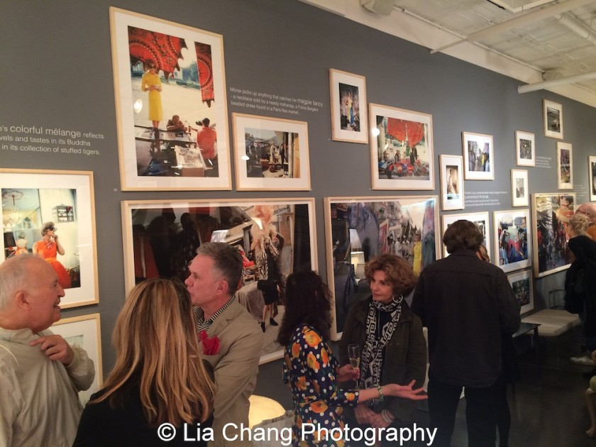 The opening reception of Tiger Morse by Mark Shaw: Jet Set Style Quest, 1962 at The Liz O'Brien Gallery in New York on November 3, 2015. Photo by Lia Chang