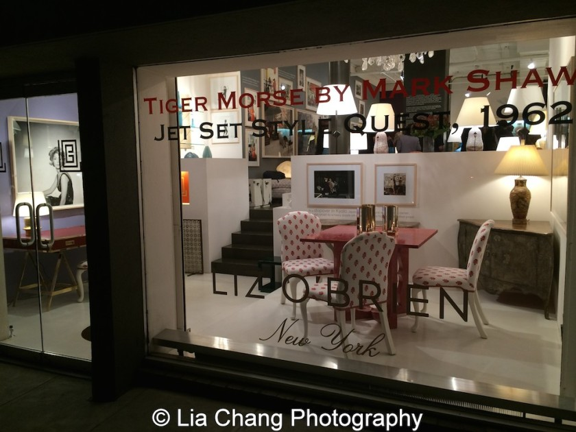 Tiger Morse by Mark Shaw: Jet Set Style Quest, 1962 at The Liz O'Brien Gallery through Dec. 18. Photo by Lia Chang