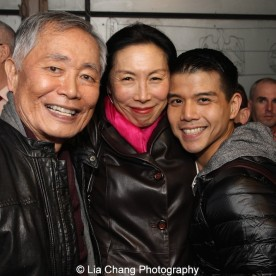 George Takei, Jodi Long and Telly Leung. Photo by Lia Chang