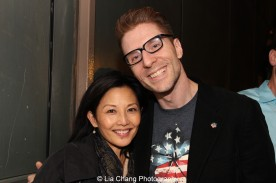 Tamlyn Tomita and Lorenzo Thione. Photo by Lia Chang