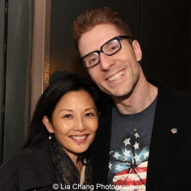 Tamlyn Tomita and Lorenzo Thione. Photo by Lia Chang