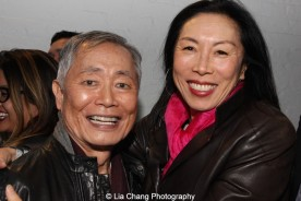 George Takei and Jodi Long. Photo by Lia Chang