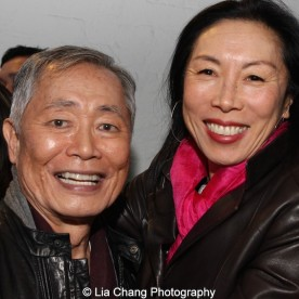 George Takei and Jodi Long. Photo by Lia Chang