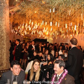 Allegiance after party at Bryant Park Grill in New York on November 8, 2015. Photo by Lia Chang