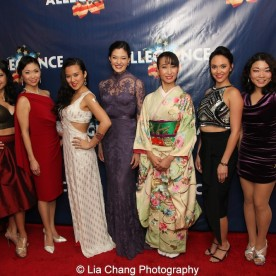 Catherine Ricafort, Janelle Dote, Elena Wang, Manna Nichols, Rumi Oyama, Belinda Allyn and Momoko Sugai. Photo by Lia Chang