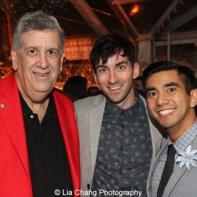 Elliott Masie, Stephen Joshua Thompson and Aaron J. Albano. Photo by Lia Chang