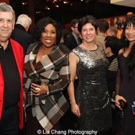 Elliott Masie, Melinda Doolittle, Cathy DiMiceli Masie and guest. Photo by Lia Chang