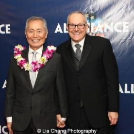 George Takei and Brad Takei. Photo by Lia Chang