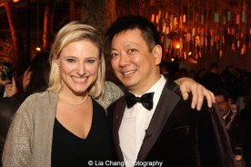 Laura Heywood and Jay Kuo. Photo by Lia Chang