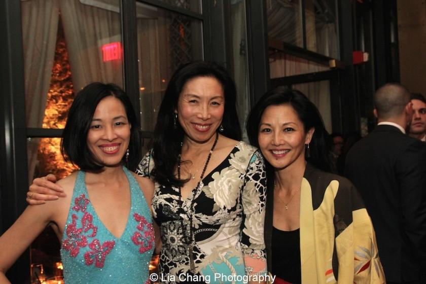 Lia Chang, Jodi Long and Tamlyn Tomita. Photo by Garth Kravits