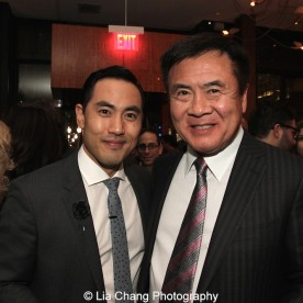 Marcus Choi and Don Aoki. Photo by Lia Chang
