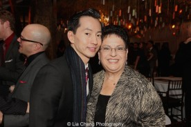 Michael K. Lee and Ann Safran Dalin. Photo by Lia Chang