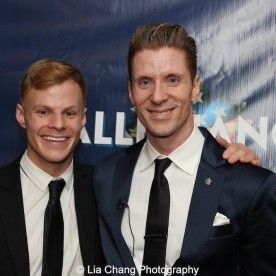 Michael Prince and Lorenzo Thione. Photo by Lia Chang